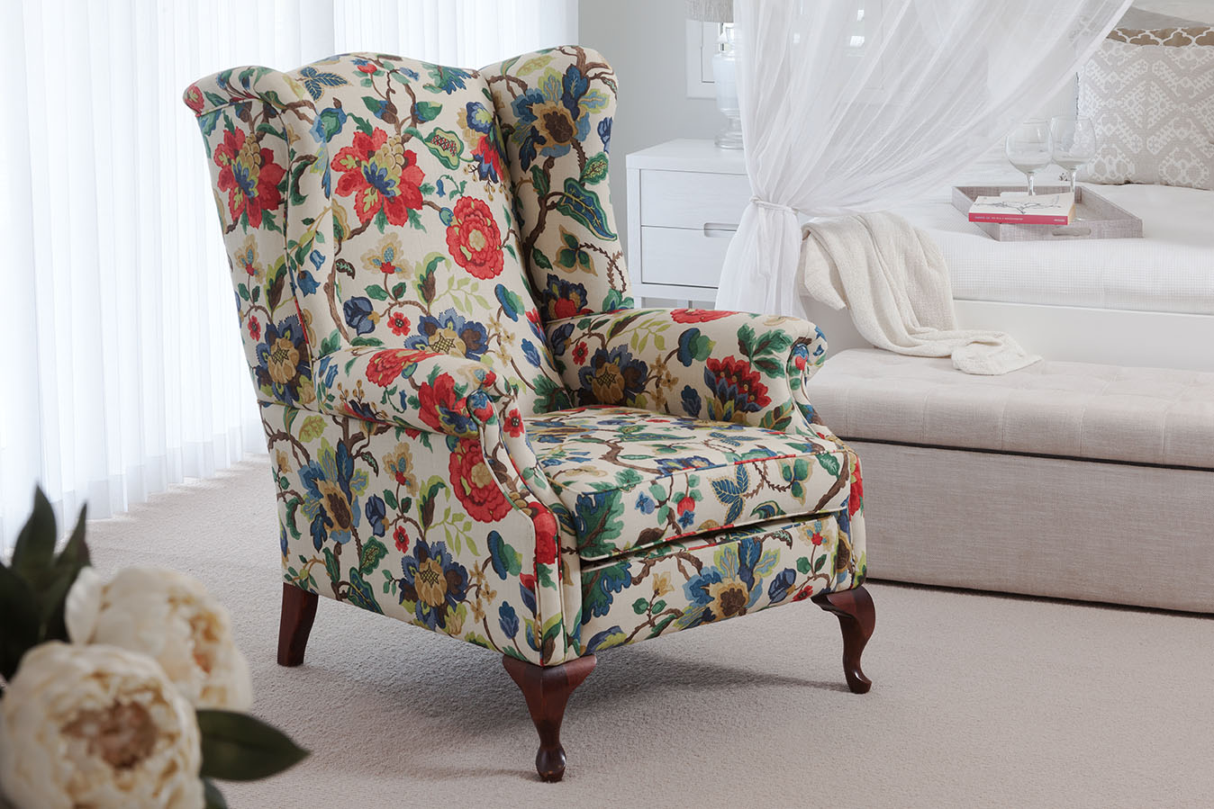 Colonial Wing Chairs Sofa Design And Manufacture Perth