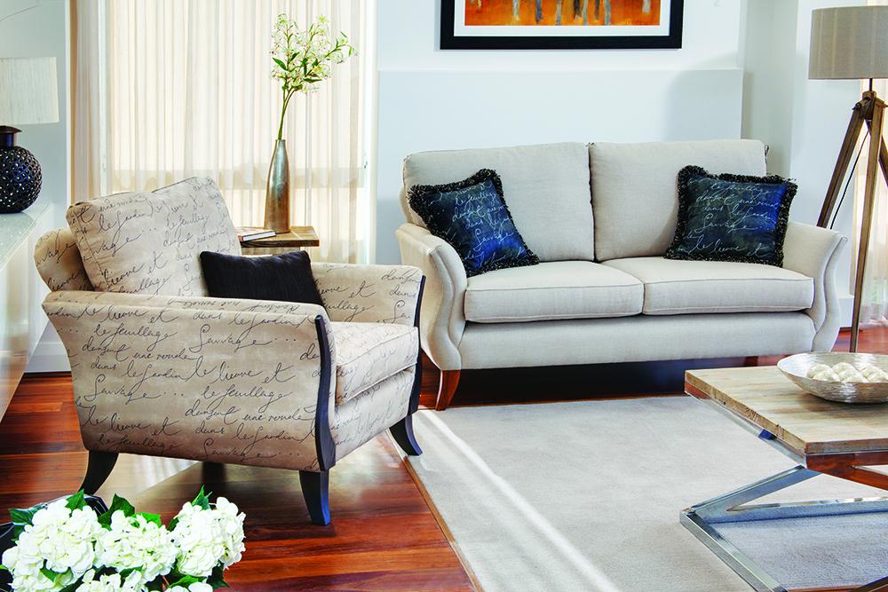 Vogue Sofa and Chair Torrance & McKenna Perth Western Australia